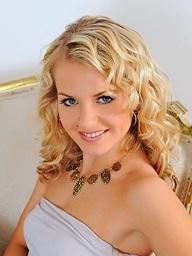 Elegant blonde..