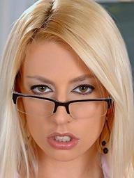 Hot blond..